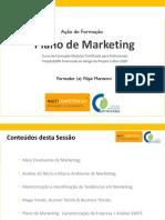 Sessão 2 - UFCD de Plano de Marketing