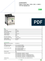 TeSys Control Relays_CA3KN22FD