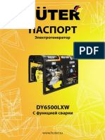 Pasport DY6500LXW