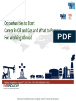 Webinar Opportunity in Oil and gas