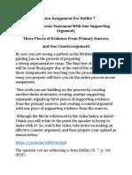 Written Assignment For Hollitz 7 (1)