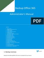 Shield Backup Office 365 Administrator Manual