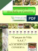 Exportación de Alcachofas