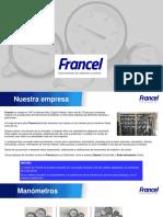 Catálogo de Productos Francel 2019