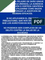 AGROTOXICOS PRESENTACION DE DATOS CENTRO CIVICO