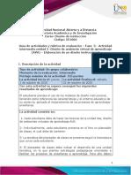 Guia de actividades y Rúbrica de evaluación - Fase 3 - Elaboración de un diseño instruccional
