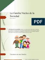 La Familia Núcleo de la Sociedad