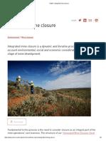 ICMM - Integrated Mine Closure.pdf