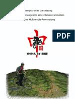 Exemplarische Umsetzung des Radtourenangebots eines Reiseveranstalters in eine Multimedia-Anwendung