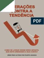 E-book Operações Contra a Tendência