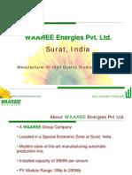 WAAREE ENERGIES - PV MODULES