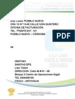 DIRECCIONES DE CORREO CERTIFICADO2020