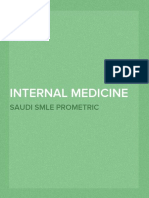Internal Medicine Qs for GP Saudi Prometric