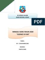 Kertas Kerja Minggu Sains 2020