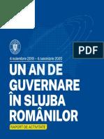 Raport Guvernare 2020