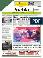 Diario El Pueblo 29 Mayo 2020