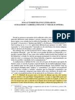 autorretratos Piñera y GCI