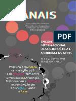 ANAIS III Encontro Internacional de Sociopoética e Abordagens Afins