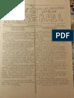 734 Highball Newsletter June 1945