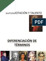 TALENTO Y SUPERDOTACION