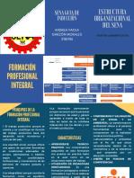 Estructura organizacional del sena