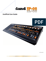 Roland JP-08 Unofficial User Guide
