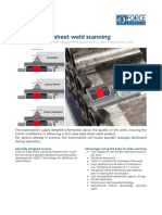 4688 Tube to tube sheet weld scanning service