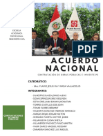ANALISIS Y COMENTARIO DEL ACUERDO NACIONAL