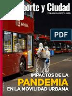 AMTM-REVISTA- Impactos de la pandemia en la movilidad urbana