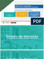 Estudios Básicos de Expediente Técnicos - Estudio de Demanda