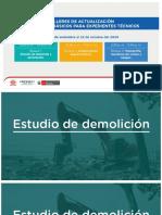 Estudios Básicos de Expediente Técnicos - Estudio de Demolición