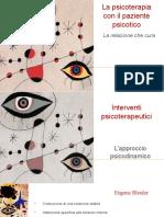 Psicoterapia con paziente psicotico