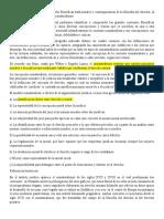 Filosofía del Derecho - Corrientes filosóficas tradicionales y contemporáneas de la filosofía del derecho