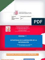SEMANA 7 ESTRATEGIAS DE ELABORACIÓN DE INFORMACIÓN.pdf