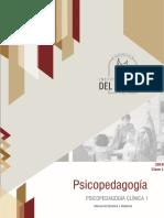 Manual Psicopedagogia Clinica 1 - 2018