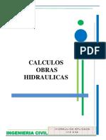 1) CALCULOS OBRAS HIDRAULICAS.pdf