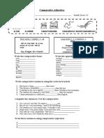 Comparative-Adjectives-worksheet