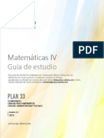 Matematicas 4 Guía de estudio plan33
