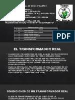 ANALISIS DEL TRANSFORMADOR REAL Y SU CIRCUITO EQUIVALENTE (1)