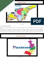 trabajo regiones geograficas