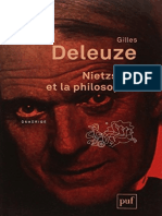 Gille Deleuze-Nietzsche et la philosophie