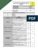 EVALUACION DE DESEMPEÑO RH PERSONAL DIRECTO RETIROS 111.1
