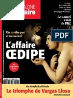 L'affire oedipe, Le Magazine Littéraire