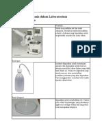 Beberapa Alat Kimia dalam Laboratorium beserta