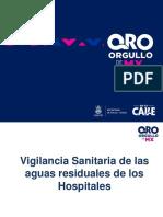 VIGILANCIA SANITARIA DE AGUAS RESIDUALES DE HOSPITALES