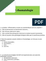 TD rhumato M1 médecine 2019-2020 (1)