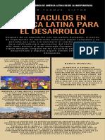 obstaculos en america latina para el desarrollo