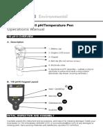 YSI - pH10-Pen-Operations-Manual-RevB