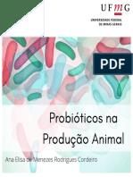 Probióticos Na Produção Animal