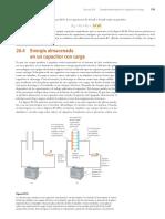 Energía almacenada en un capacitor